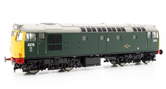 Class 27 5370 in Green With Full Yellow Ends (no boiler tanks) Diesel Locomotive