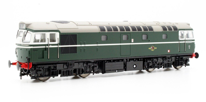 Class 27 D5349 In Plain Green Diesel Locomotive