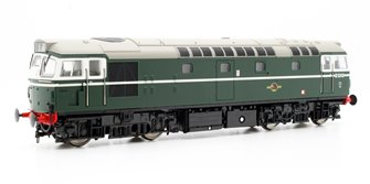 Class 27 D5349 In Plain Green Diesel Locomotive
