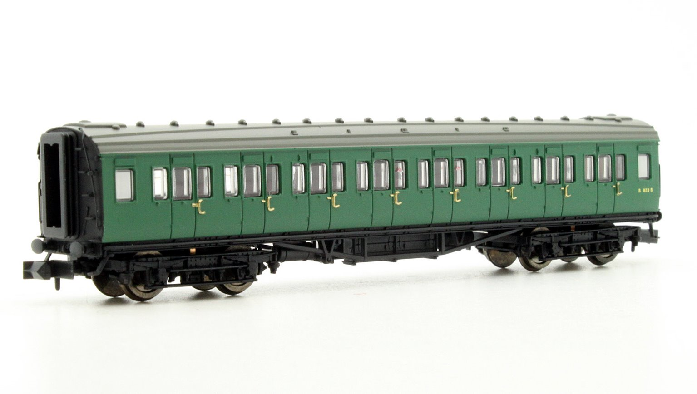Coach 3rd Class BR SR Green 823