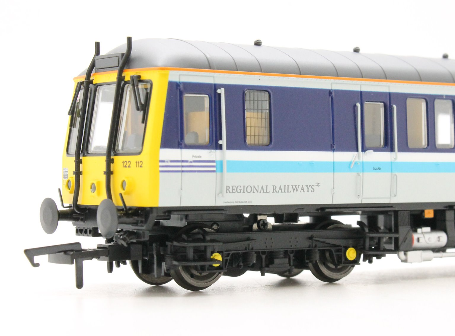 Class 122 Bubble Car #55012 Regional Railways