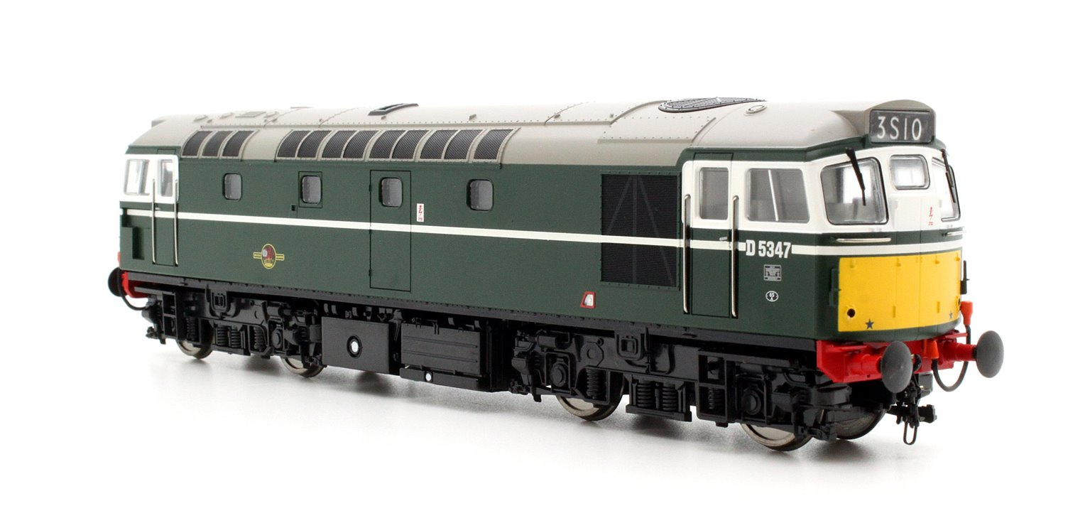 Class 27 D5347 In Green With SYP (Preserved) Diesel Locomotive
