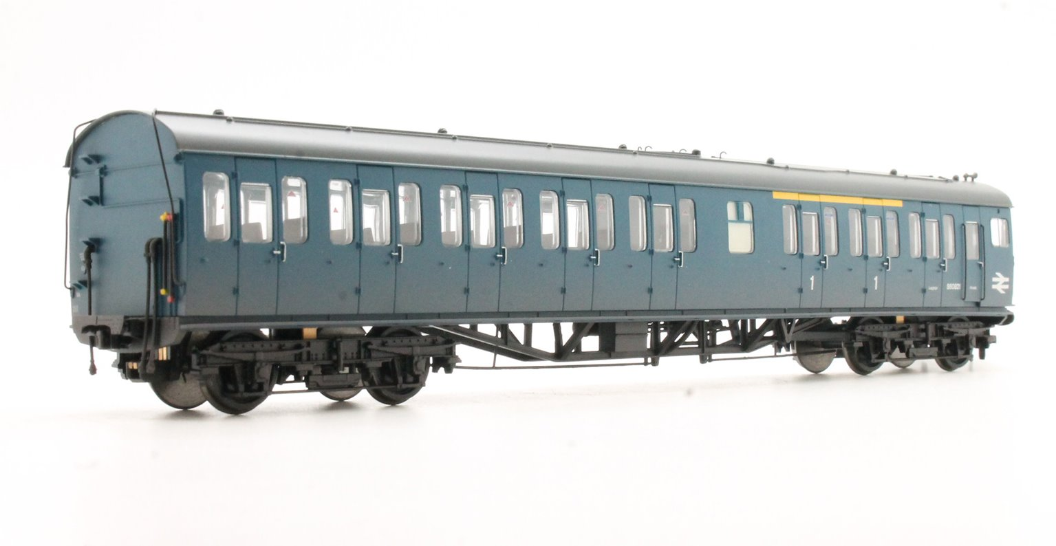 Class 205 Thumper 1122 BR Blue Full Yellow Ends - No Headlight - Weathered