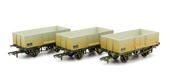 6 Plank Wagon - BR Weathered Set (3)