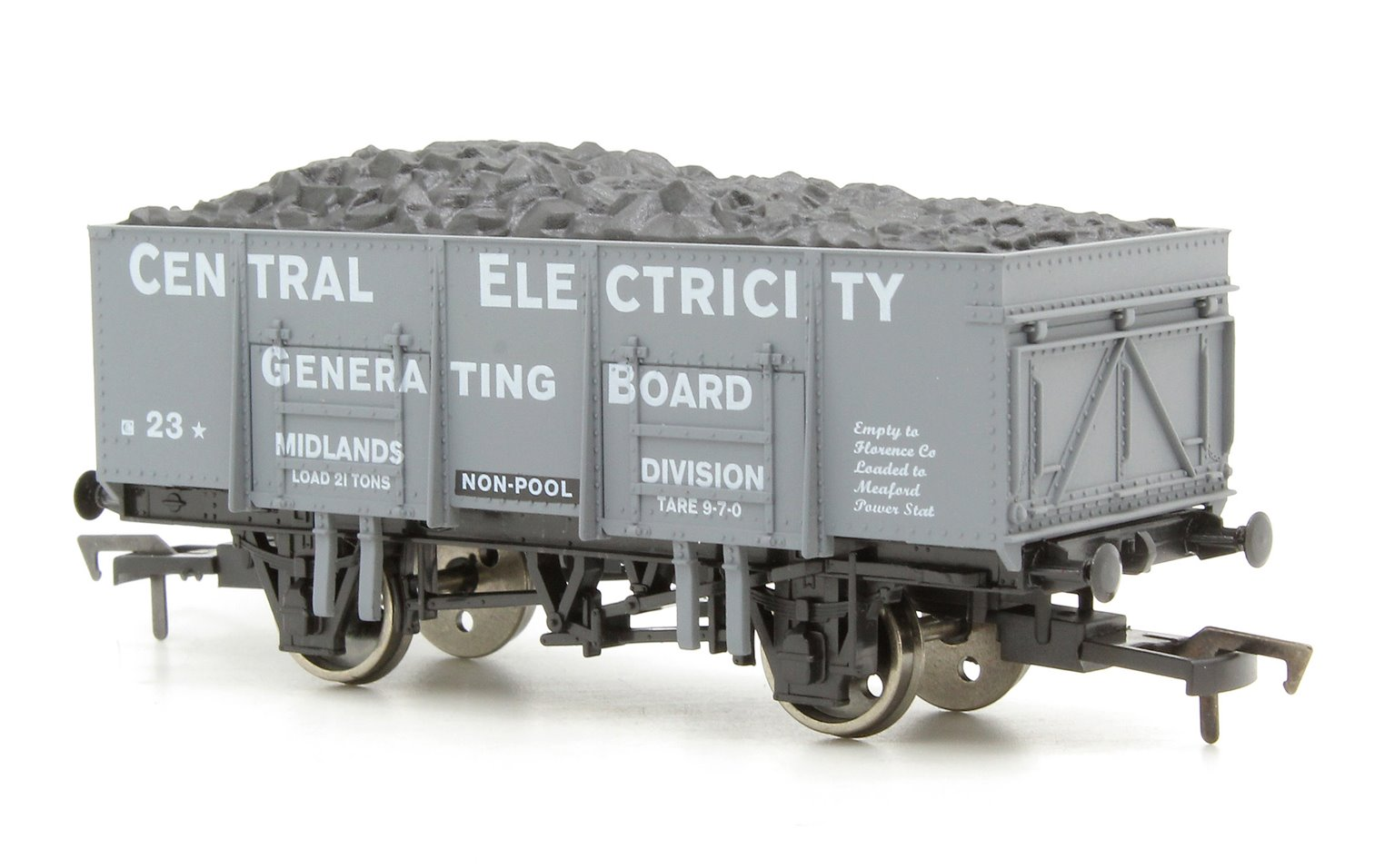 20t Steel Mineral Wagon - Central Electricity