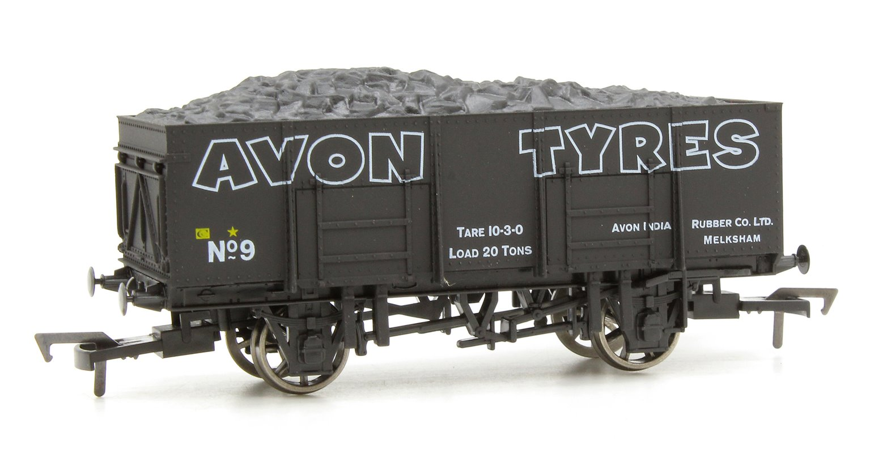 20t Steel Mineral Wagon - Avon Tyres