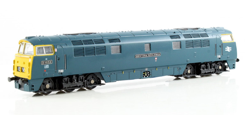 Class 52 'Western Nobleman' #D1058 BR Blue Full Yellow Ends