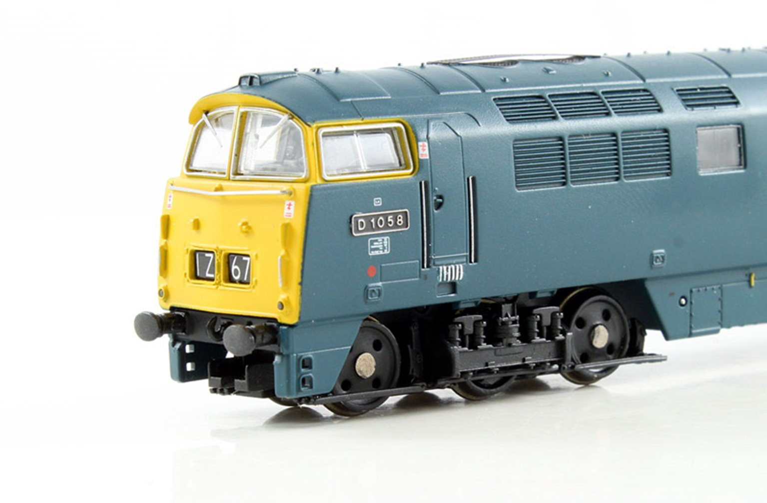 Class 52 'Western Nobleman' #D1058 BR Blue Full Yellow Panel - DCC Fitted