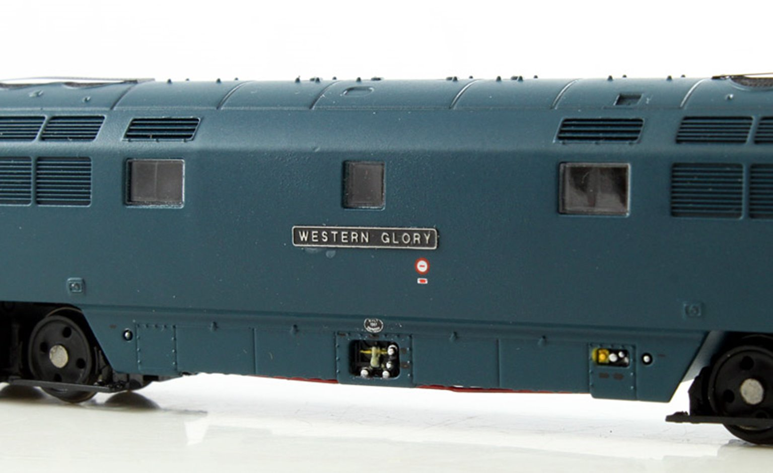 Class 52 'Western Glory' #D1072 BR Blue Full Yellow Ends