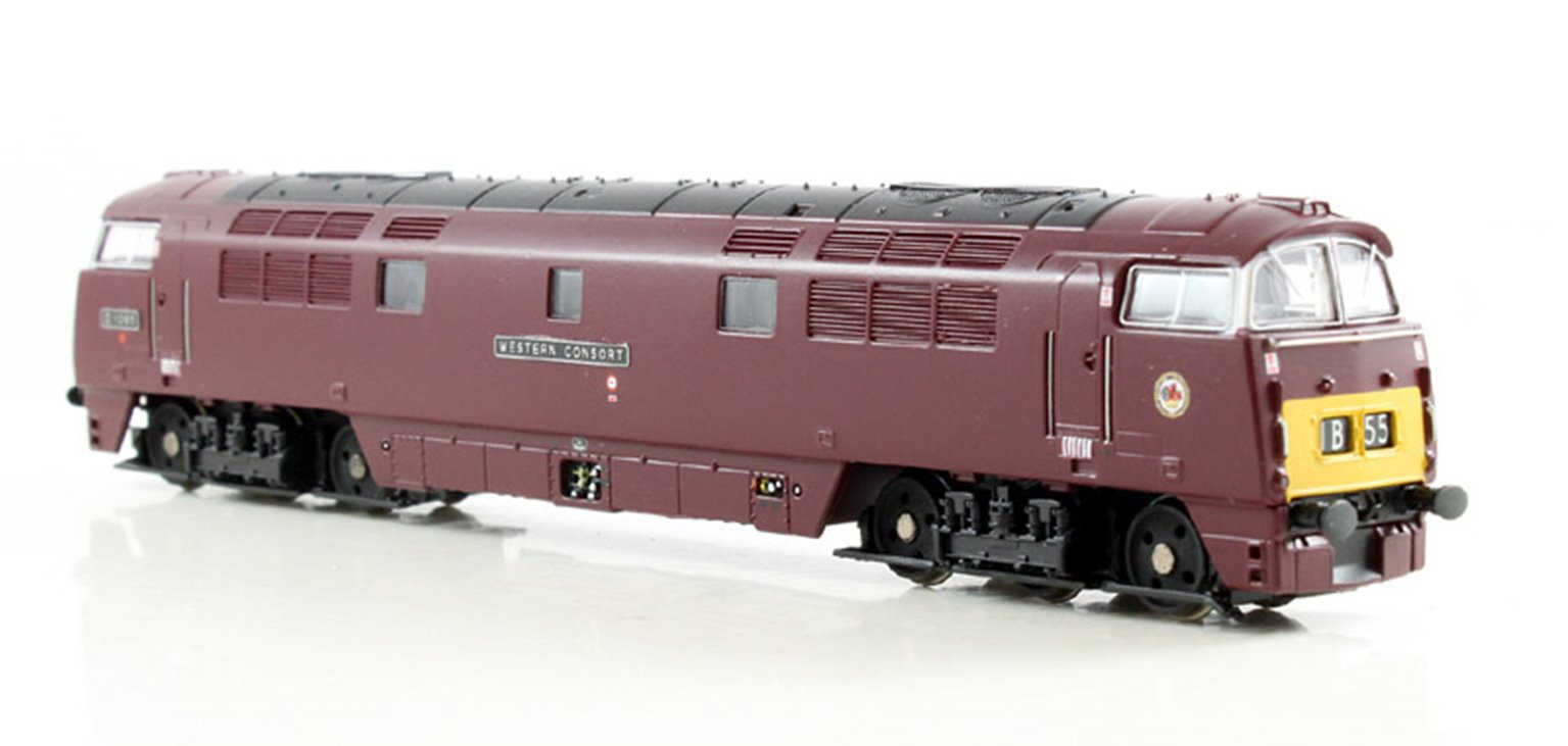 Western Consort D1065 BR Maroon SYP -  DCC Fitted