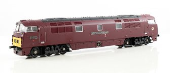 Class 52 'WESTERN FIREBRAND' #D1012 BR MAROON WITH SMALL YELLOW PANEL - DCC