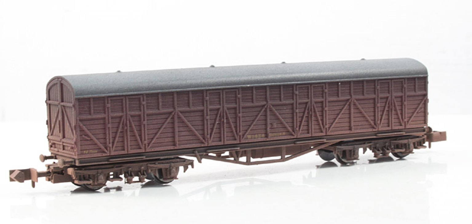 BR Siphon H Wagon #W1434 - Weathered