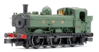 Pannier 6752 GWR Green lettered GWR Later Cab