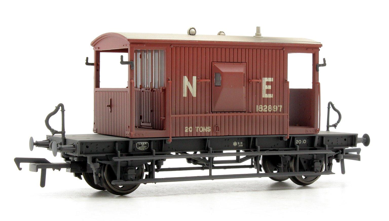 20 Ton Brake Van LNER Oxide