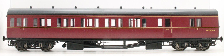 Dapol LHT-624 Suburban B 4 Coach Set BR London Division 36 Maroon