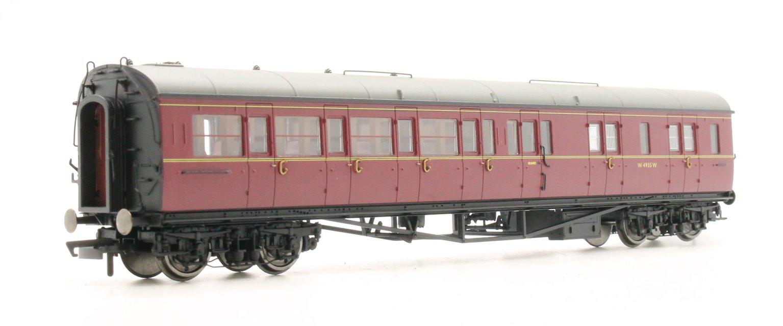 BR Collett Coach Corridor Brake Third Class RH 'W4935W', Maroon