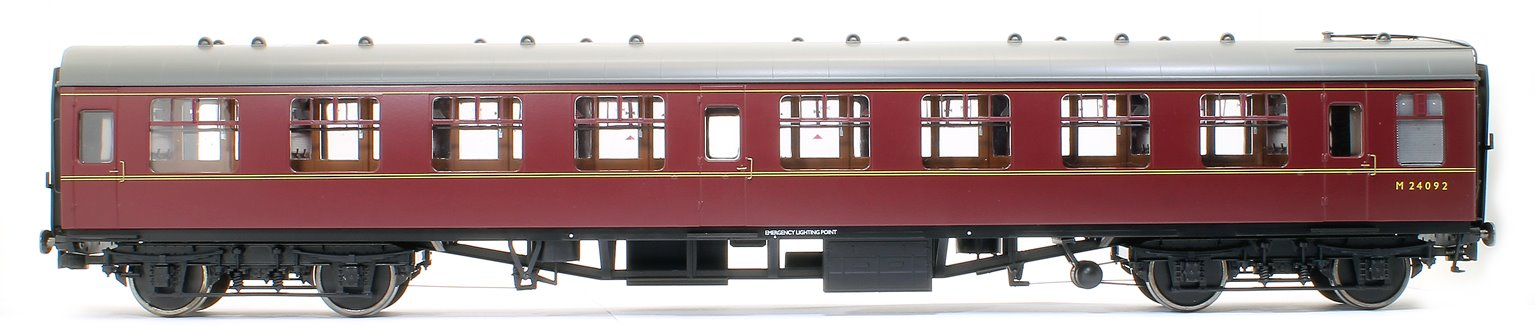 BR MR Maroon MK1 SK Coach No. M24092 (DCC Fitted)