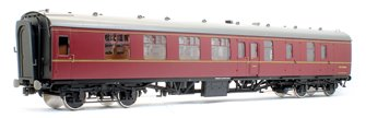 BR MR Maroon MK1 BSK Coach No.M34001 (DCC Fitted)
