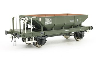 Catfish Ballast Hopper Wagon DB983503 in engineers olive (TOPS panels)