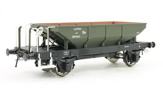 Catfish Ballast Hopper Wagon DB992623 in engineers olive (early lettering style)