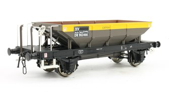 Catfish Ballast Hopper Wagon DB983466 in 'Dutch' grey/yellow