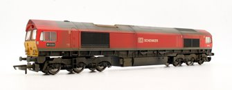 Custom Finished Class 66 185 'DP World London Gateway' DB Schenker Locomotive Weathered