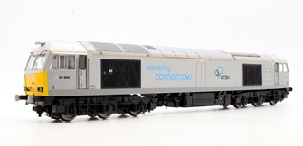 Class 60 066 Drax 'Powering Tomorrow' Co-Co Diesel Locomotive