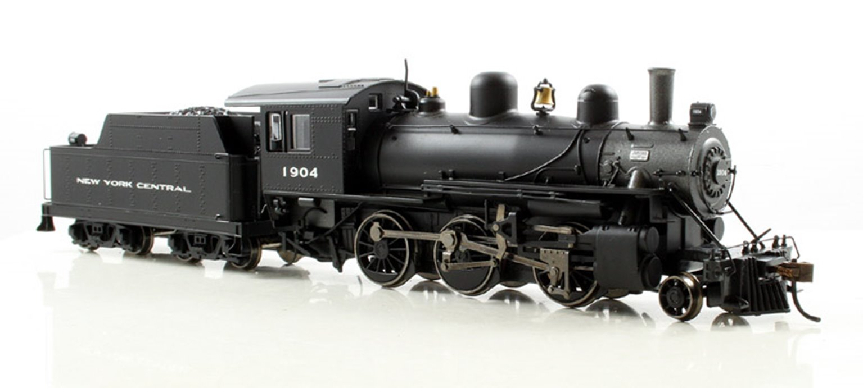 New York Central Alco 2-6-0 Steam Locomotive #1904 with DCC Sound!