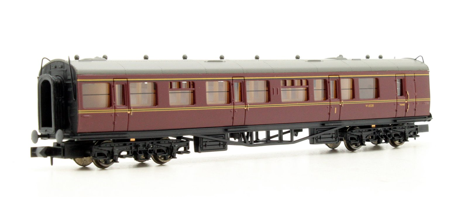 Collett Coach BR Brake Composite Maroon #W6538