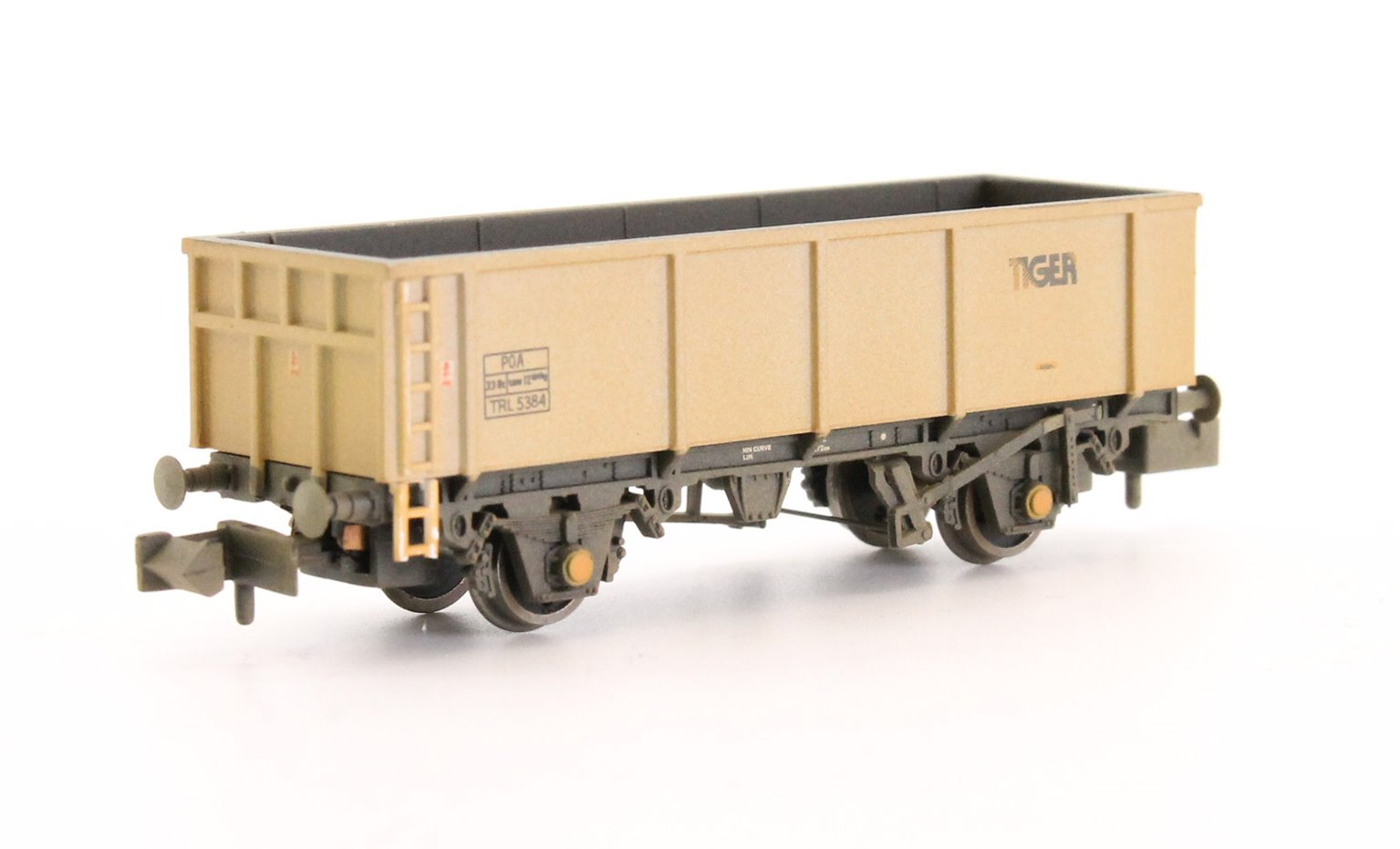 46T POA Mineral Wagon 'Tiger' Grey Weathered