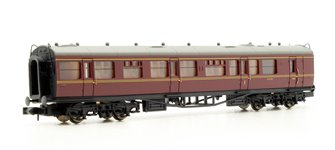 Collett Coach BR Brake Composite Maroon #W6476