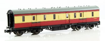 LMS 50ft Full Brake BR Crimson & Cream