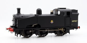 BR Black 0-6-0T J50 Class Locomotive - Early BR 68987