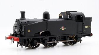 BR Black 0-6-0T J50 Class Locomotive - Late BR 68971
