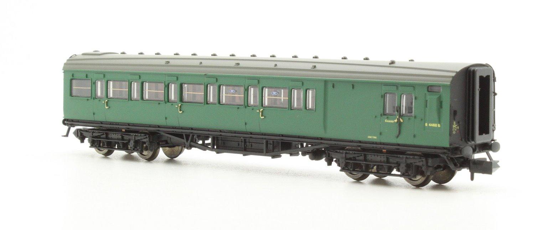 Maunsell Coach BR Brake 3rd Class SR Green 4482