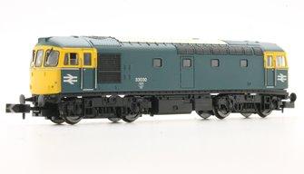 Class 33/0 #33030 BR Blue
