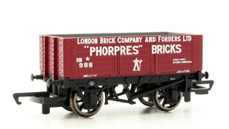 6 Plank Wagon 'London Brick Company'