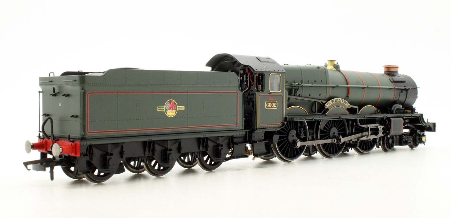BR 4-6-0 'King William IV 6000 King Class - Late BR Locomotive #6002