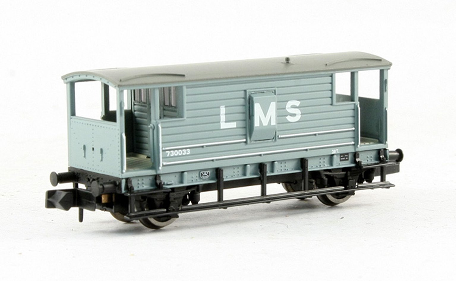 20 Ton Brake Van LMS Grey
