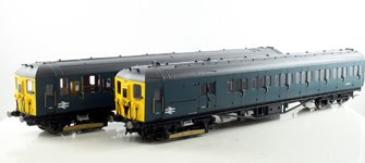 BR 2-HAL 2 Car Electric Multiple Unit Train Pack