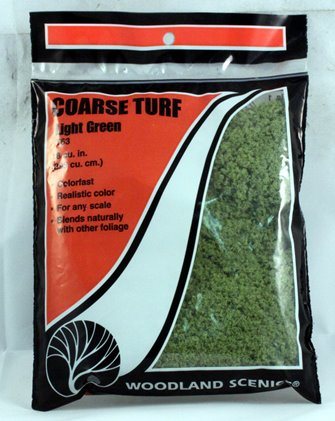 Light Green Coarse Turf (Bag)