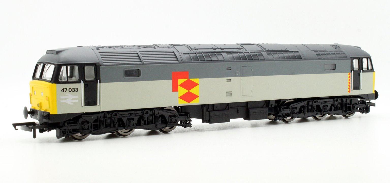 RailRoad Class 47 033 Railfreight Diesel Locomotive with TTS Sound