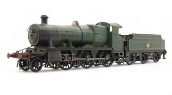 Custom Finished Class 43xx Mogul 2-6-0 in BR lined green with early crest - Weathered