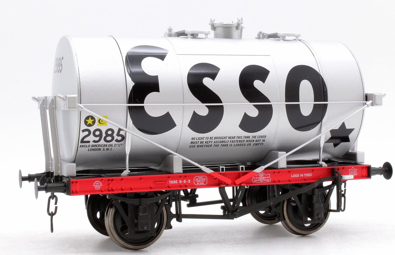 14T Tank Wagon Class A Esso Silver 2985