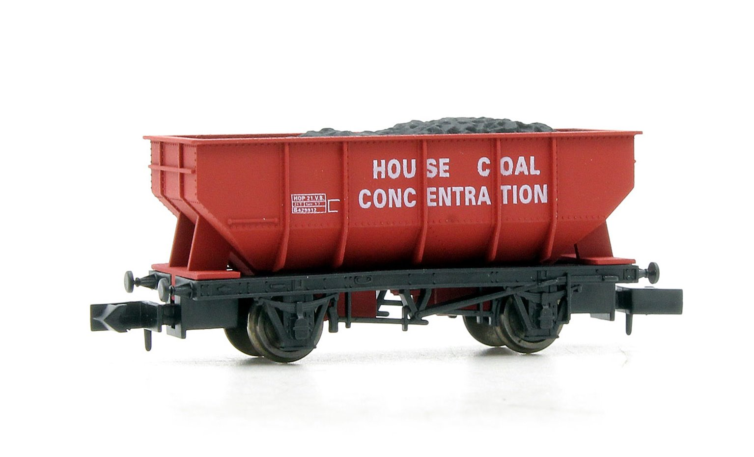 Dapol 2F-034-055 21-ton hopper B429912 in House Coal concentration livery