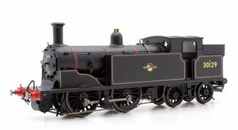 BR 0-4-4T '30129' M7 Class, Late BR Black Locomotive