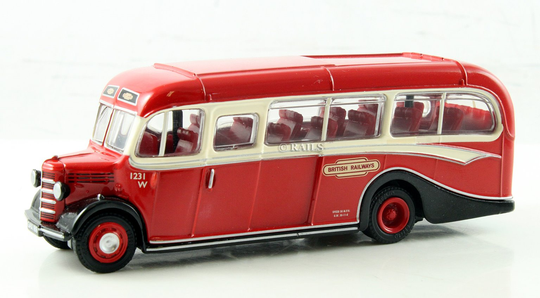 EFE Bedford OB Coach British Railways