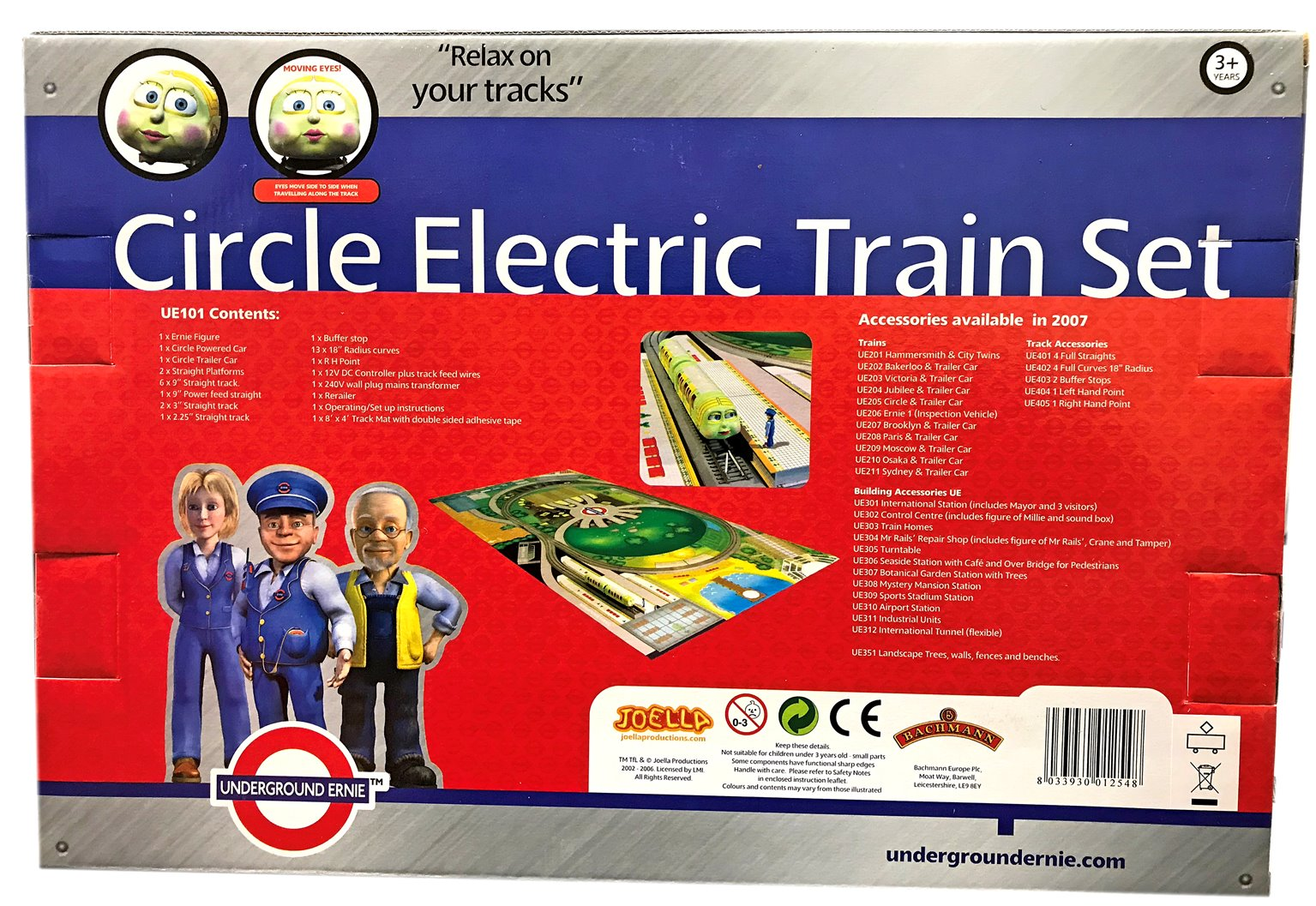 Underground Ernie Circle Electric Train Set
