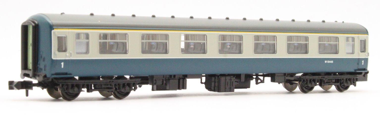 BR MK2A FK First Corridor Blue & Grey