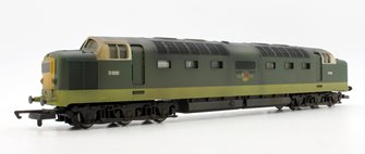 Custom Finished Class 55 - D9016 BR Green Deltic Locomotive Weathered